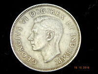 1939   NICKEL   CANADIAN   FIVE CENT   COIN PICTURED YOU WILL RECEIVE