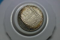 FRANCE 10 FRANCS 1939 AMAZING TONING HIGH GRADE A60 K9597
