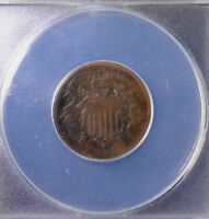 1864 2C TWO CENT PIECE SMALL MOTTO CORRODED ANACS G 4 DETAILS 4578871