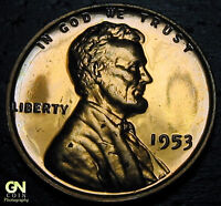 1953 PROOF LINCOLN CENT WHEAT PENNY      MAKE US AN OFFER  Y6147