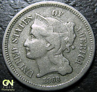 1868 3 CENT NICKEL PIECE      MAKE US AN OFFER  Y5203