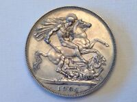 1902 GREAT BRITAIN EDWARD VII ONE CROWN CHOICE MATTE PROOF   SALE PRICED