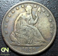 1859 O SEATED LIBERTY HALF DOLLAR      MAKE US AN OFFER  W3806 ZXCV
