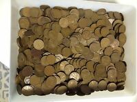 WHEAT PENNIES 1000 CENTS ALL