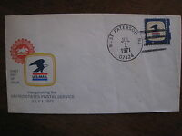 US STAMPS FDC 1396 8C