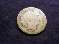 1916 S BARBER DIME GREAT COIN  7