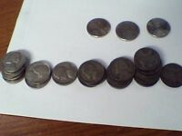 JEFFERSON NICKELS LOT OF 24 COINS