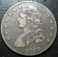 1836 CAPPED BUST HALF DOLLAR      MAKE US AN OFFER  W3371 ZXCV
