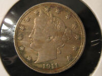 1911 LIBERTY V NICKEL - FULL LIBERTY - SHIPS FREE