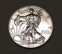 1 TROY OZ OUNCE .999 FINE PURE SILVER AMERICAN EAGLE 2016 COIN