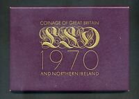 PROOF SET COINAGE OF GREAT BRITAIN AND NORTHERN IRELAND UNITED KINGDOM 1970