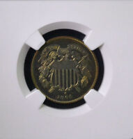 1864 2C TWO CENT PIECE LARGE MOTTO PROOF NGC PF 66 RB 3297406-007