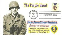 PURPLE HEART FIRST DAY COVER,
