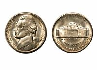 1952 S JEFFERSON NICKEL   CHOICE BU 702
