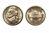 1952 S JEFFERSON NICKEL   CHOICE BU 705