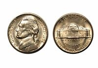 1952 S JEFFERSON NICKEL   CHOICE BU 701
