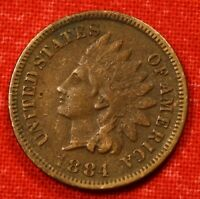 1884 INDIAN HEAD CENT XF BEAUTIFUL COIN GIFT CHECK OUT STORE IH558