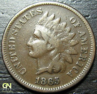 1865 INDIAN HEAD CENT  --  MAKE US AN OFFER  Y7067