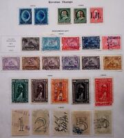 BUFFALO STAMPS, AWESOME MINI-LOT OF BETTER DOCUMENTARY REVENUES