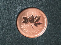 2006P MAGNETIC CANADA SPECIMEN ONE CENT PENNY