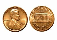1964 D/D  LINCOLN CENT   RPM 003 3  CHOICE BU RED  544