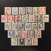 U.S. GREAT AMERICANS STAMPS SET LOT SC 2168- 2196-MNH-$33.90