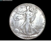 1940 S SILVER WALKING LIBERTY HALF DOLLAR 4166A