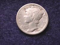 1917 MERCURY DIME OUTSTANDING COIN  22