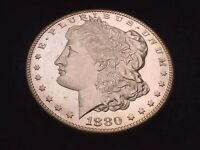 1880 S MORGAN DOLLAR OUTSTANDING GEM BU DEEP MIRROR PROOF LIKE  DOLLAR  110
