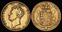 GREAT BRITAIN 1830 GEORGE IV GOLD SOVEREIGN. S 3801.