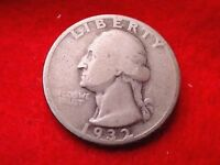 1932 WASHINGTON QUARTER NICE COIN    137
