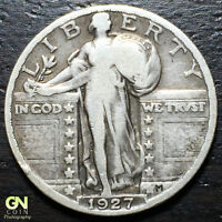 1927 P STANDING LIBERTY QUARTER  --  MAKE US AN OFFER  Y8021