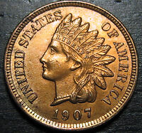 1907 INDIAN HEAD CENT      MAKE US AN OFFER O3699