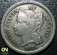 1881 3 CENT NICKEL PIECE      MAKE US AN OFFER  Y5130