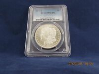 1879-S MORGAN DOLLAR PCGS MINT STATE 64PL - BRIGHT AND WHITE