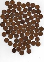LOT OF 81 LINCOLN WHEAT CENT 1925-P 1925-D 1925-S GOOD MIX