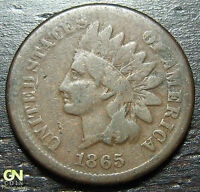 1865 INDIAN HEAD CENT  --  MAKE US AN OFFER  O3268