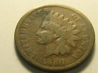 1880 & 1884 INDIAN HEAD CENTS