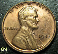 1942 P LINCOLN CENT WHEAT CENT-PROOF  --  MAKE US AN OFFER  W3610 ZXCV