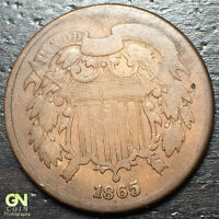 1865 2 CENT PIECE  --  MAKE US AN OFFER  Y8159