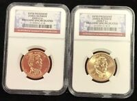 2008 P & D $1 FIFTH PRESIDENT JAMES MONROE NGC BRILLIANT UNCIRCULATED
