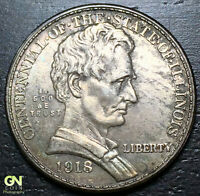 1918 LINCOLN COMMEMORATIVE HALF DOLLAR --  MAKE US AN OFFER  Y8210