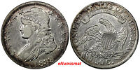 US SILVER 1833 CAPPED BUST 50 CENTS HALF DOLLAR CH.VF CONDITION 10120