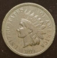 1873 INDIAN HEAD CENT PENNY NICE COIN FOR YOUR COLLECTION  B F