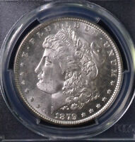 1879-S $1 MORGAN DOLLAR UNCIRCULATED PCGS MINT STATE 65 82476081