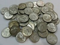 40  SILVER COIN LOT  1965 1969 KENNEDY HALF DOLLARS   CHOOSE HOW MANY