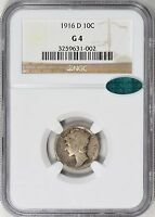 Click now to see the BUY IT NOW Price! 1916 D MERCURY SILVER DIME NGC G04 CAC  KING OF THE MERCS