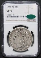 Click now to see the BUY IT NOW Price! 1889 CC MORGAN SILVER DOLLAR  KING OF THE CARSON CITY MORGANS  NGC VF25 CAC
