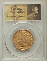 1908 D $10 NO MOTTO INDIAN EAGLES PCGS XF45