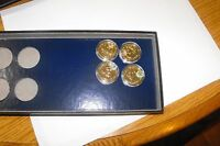 2007  1ST YEAR SET PRESIDENTIAL DOLLAR SET - 24 GOLD PLATED  UNCIRCULATED